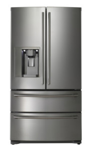 French Door stainless steel fridge